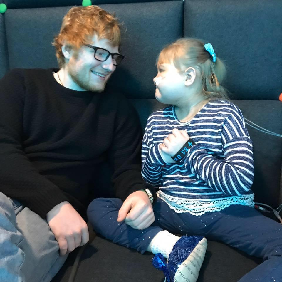 Ed Sheeran visits Melody