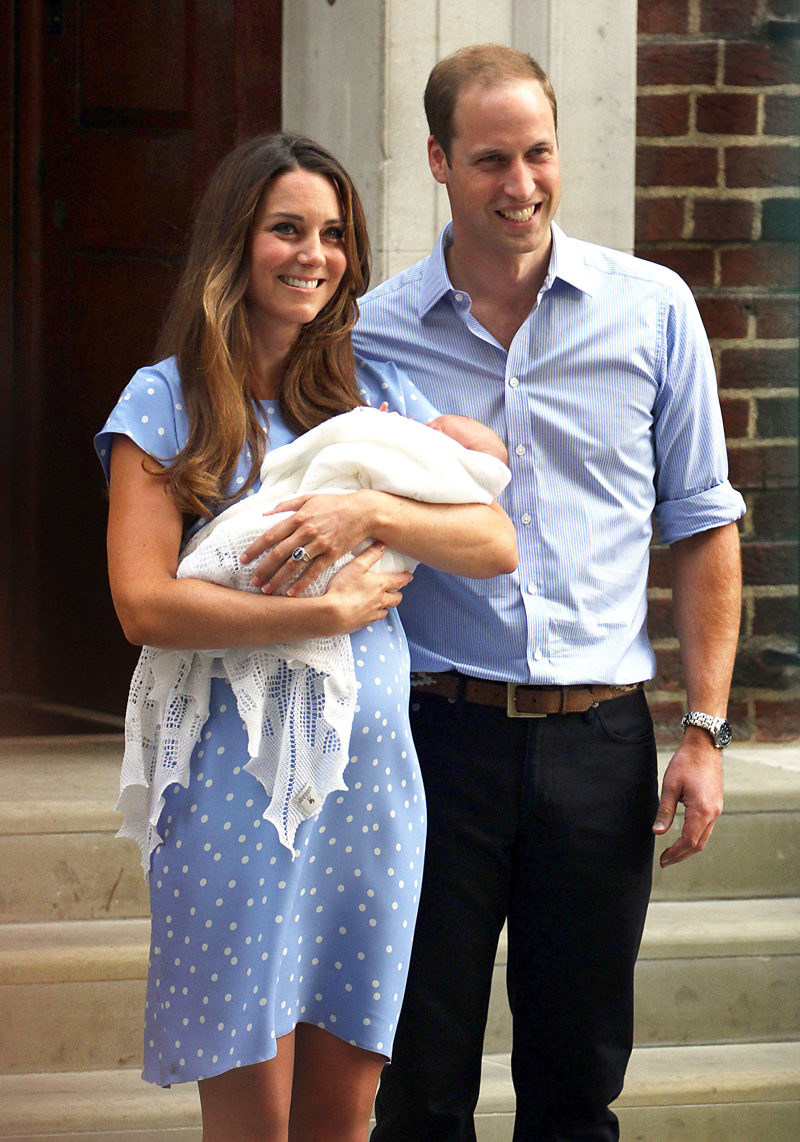 Kate And William Baby George