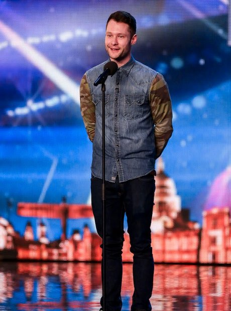 Calum Scott on BGT