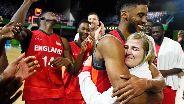Watch Team England Basketball Star Propose To Fellow Player On Court