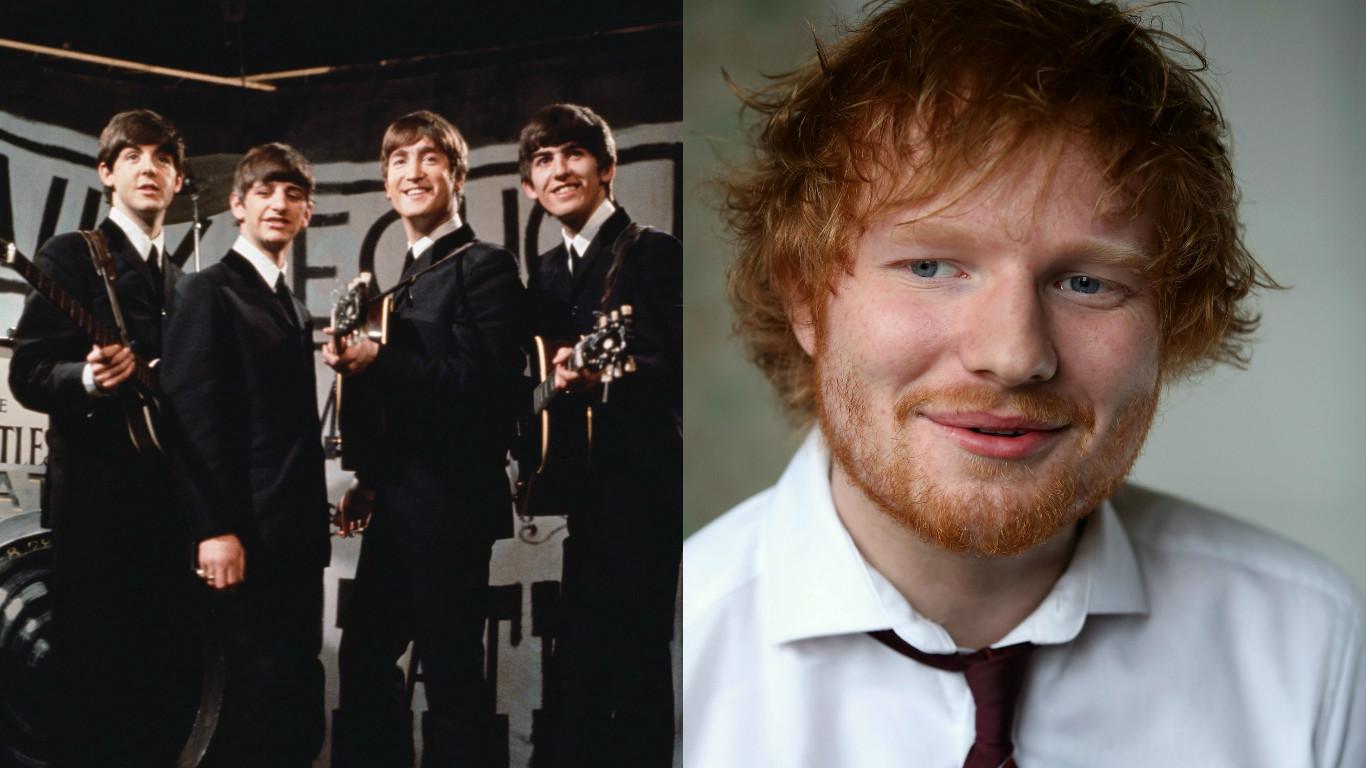 The Beatles /Ed Sheeran