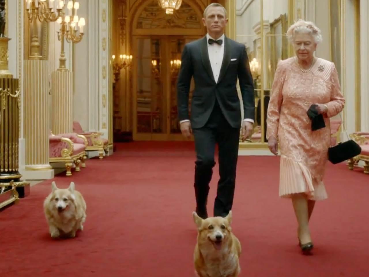 The Queen and Daniel Craig