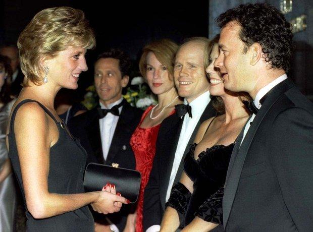 Tom Hanks and Princess Diana