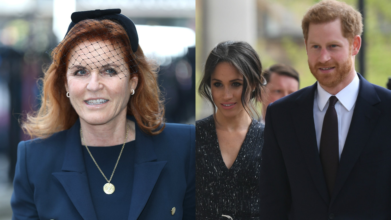 Fergie / Harry and Meghan