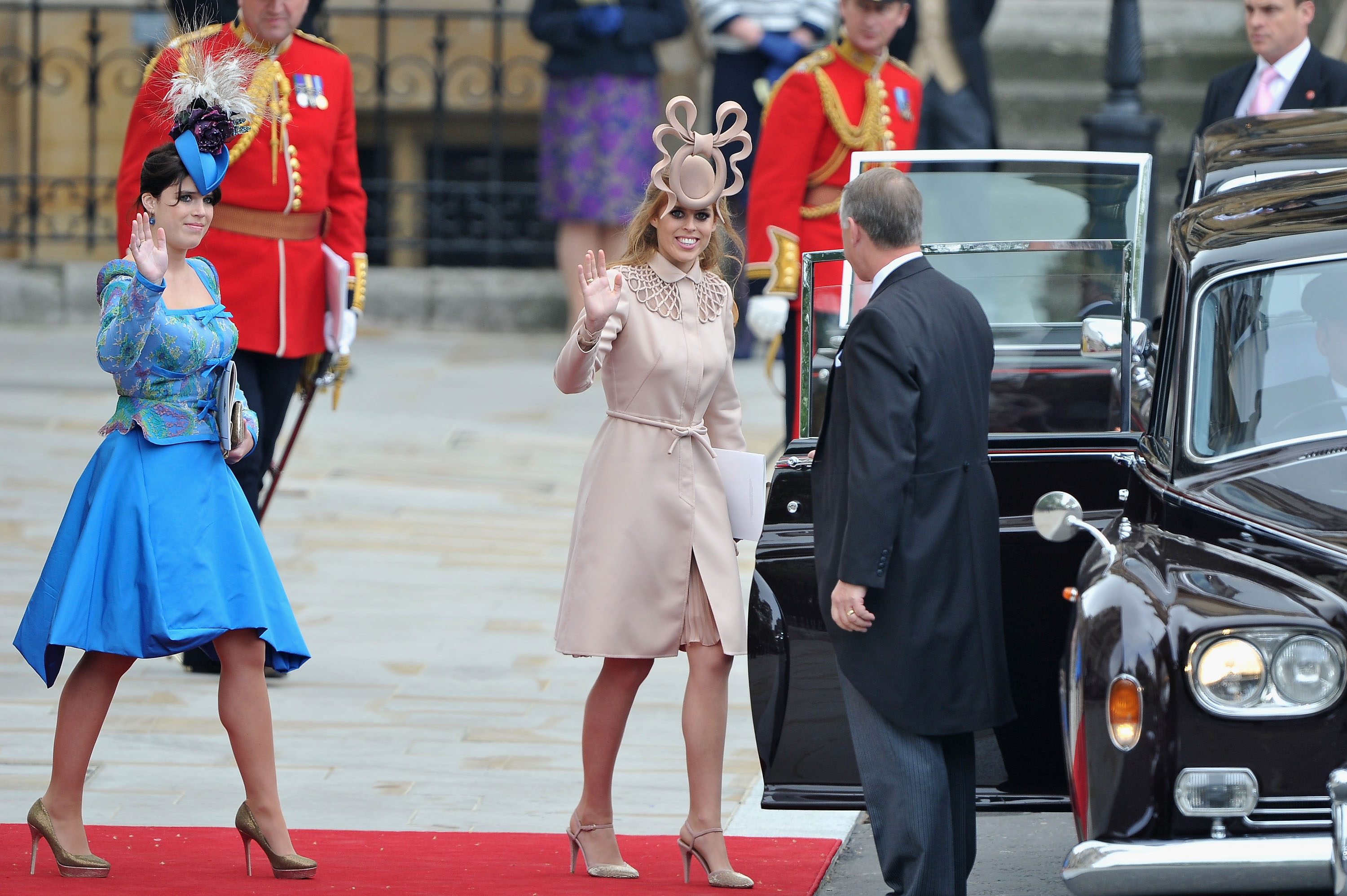 Beatrice and Eugenie hats