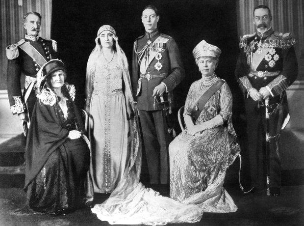 King George VI wedding