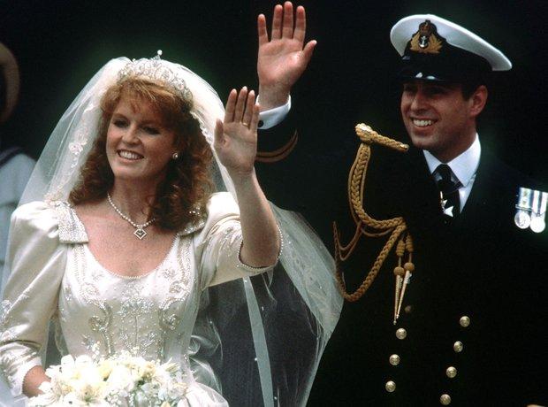 Prince Andrew wedding