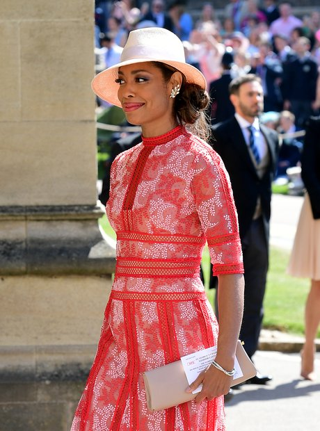 Suits star Gina Torres arrives at St George's Chap