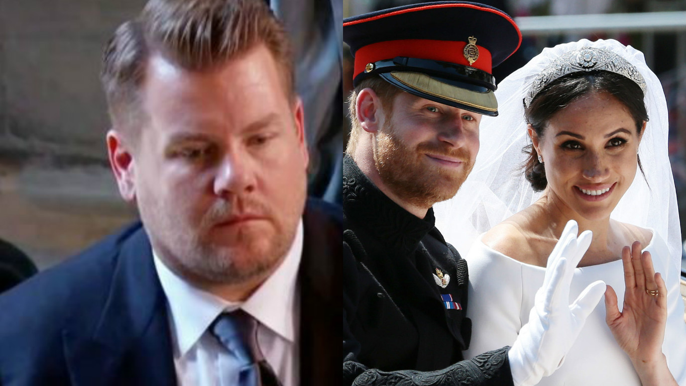 James Corden/Royal Wedding