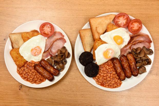 Morrisons Big Daddy Breakfast