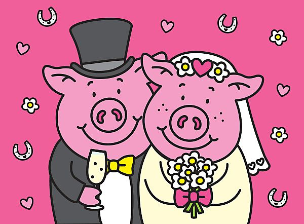 Percy Pig married