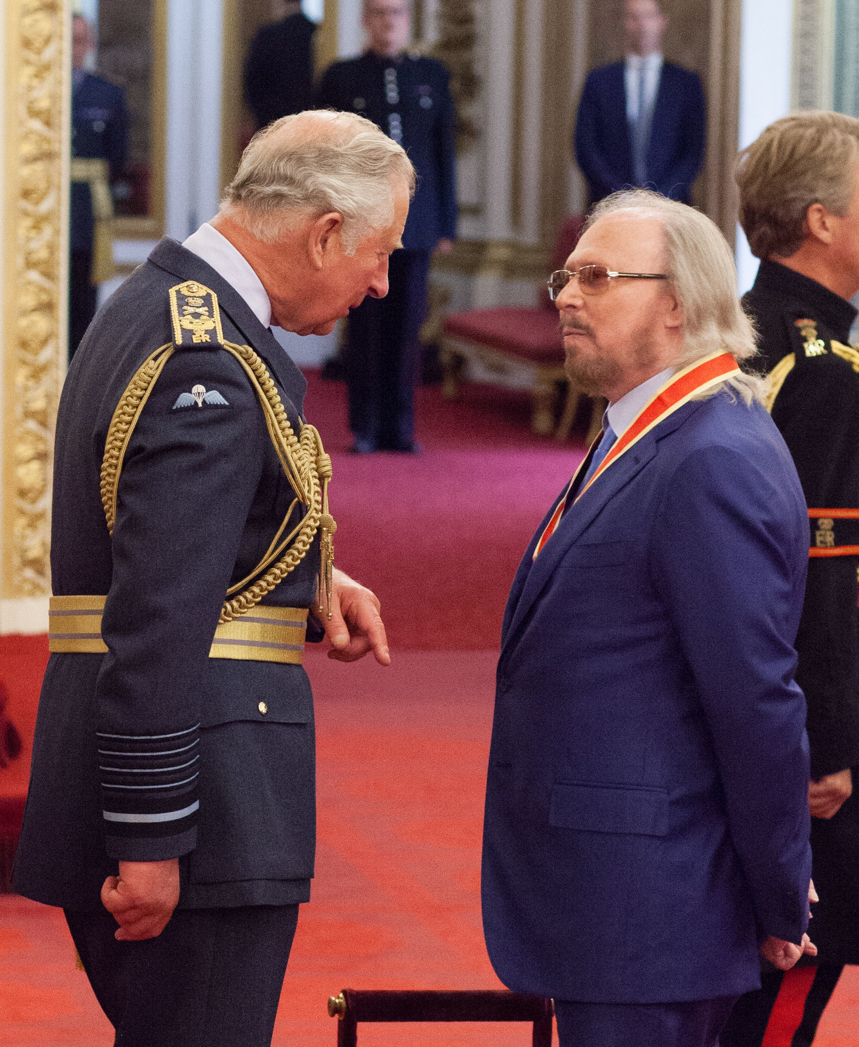 Arise Sir Barry: Bee Gee is knighted