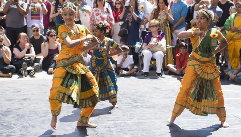Festival of Manc dancers