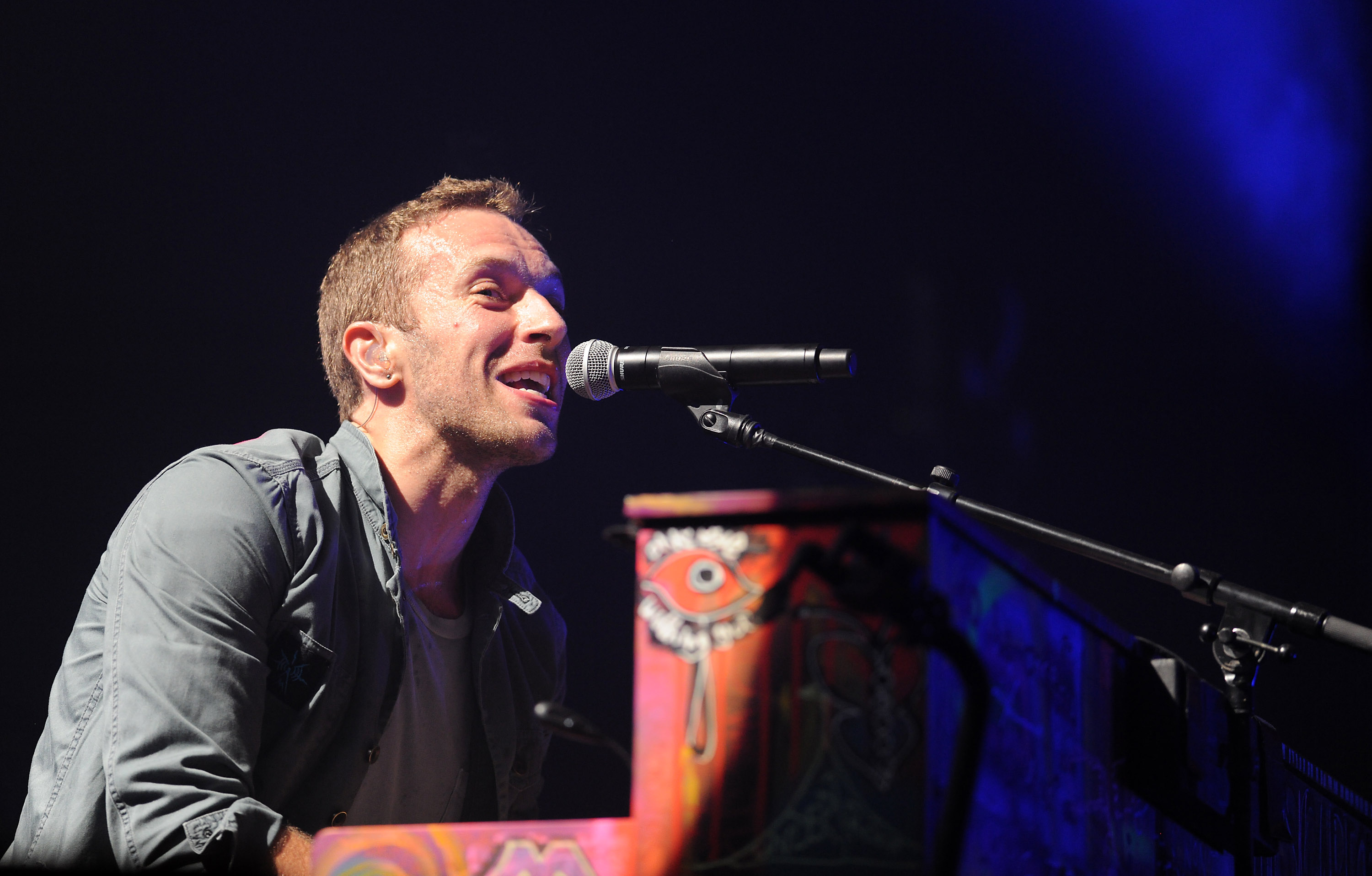 Glastonbury 2011 coldplay
