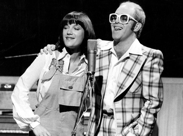 Elton John and Kiki Dee