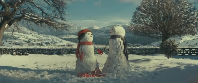 John Lewis ad - screen grab
