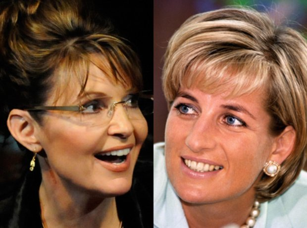 Sarah Palin and Princess Diana