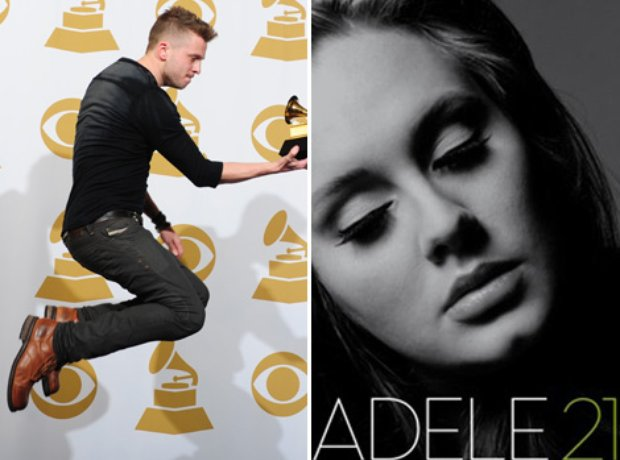 Ryan Tedder and Adele