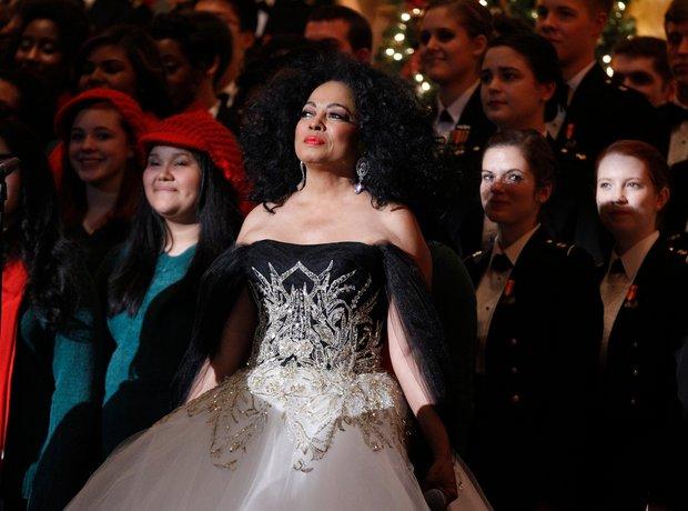 Diana Ross Christmas in Washington