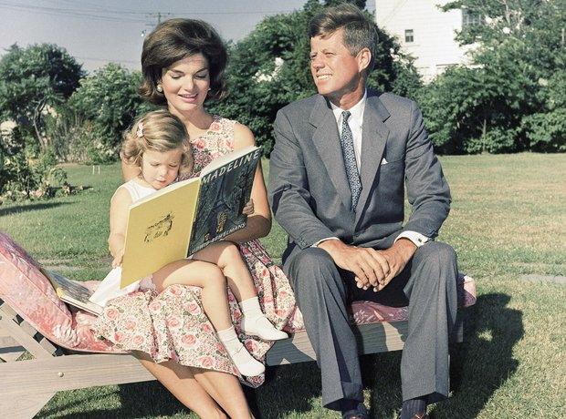 Jackie and John Fitzgerald Kennedy