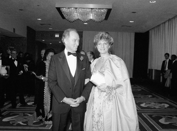 Pierre Trudeau and Barbra Streisand