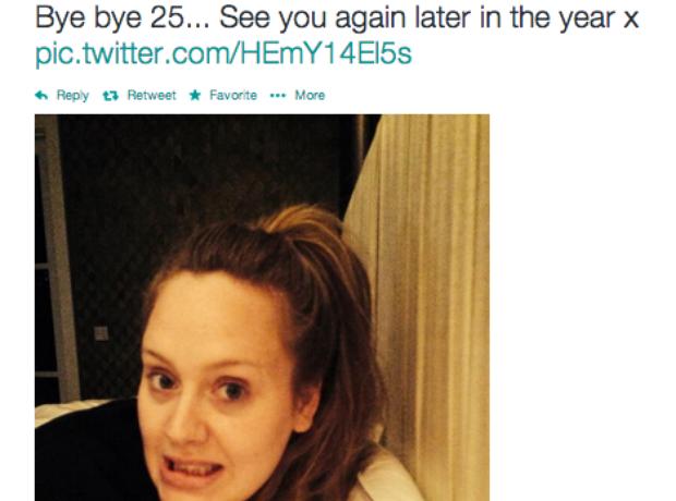 Adele Twitter
