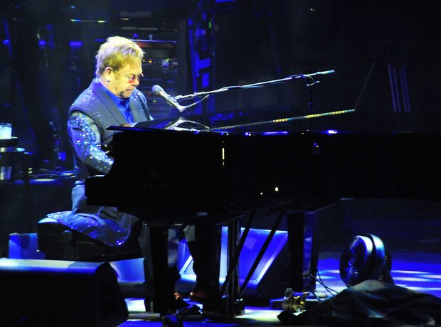 Elton John in Brazil, February 2014