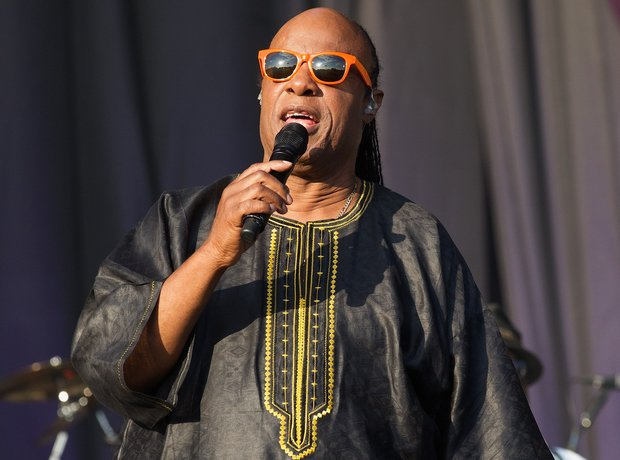 Stevie Wonder performing at Calling Festival in Lo
