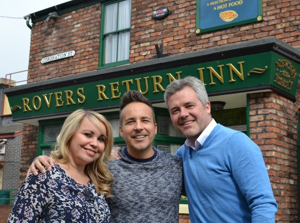 Coronation Street Tour Preparations