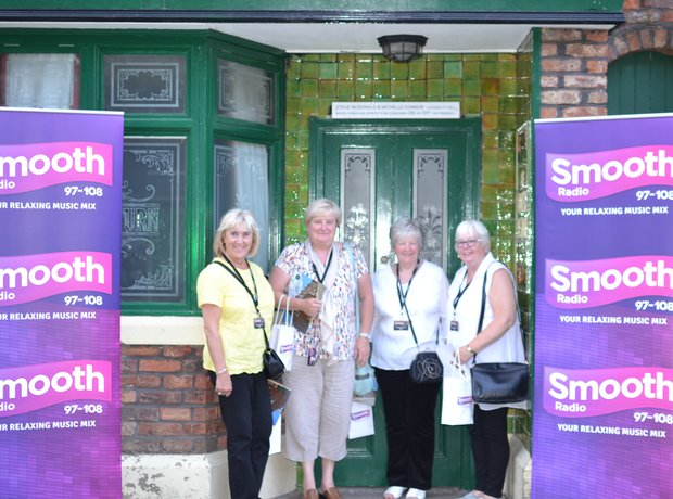 Coronation Street Tour VIP winners