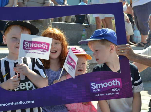Smooth Radio and the Liverpool Giants