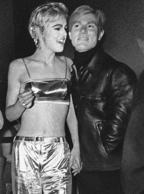 Edie Sedgwick and Andy Warhol