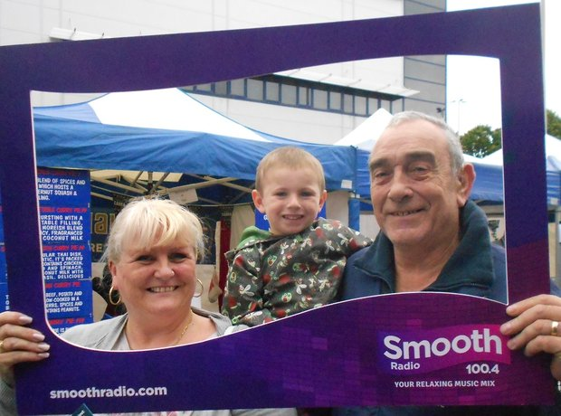 Smooth Radio At Preston Food Festival 2014