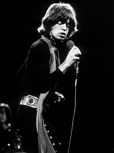 Mick Jagger lead singer of The Rolling Stones
