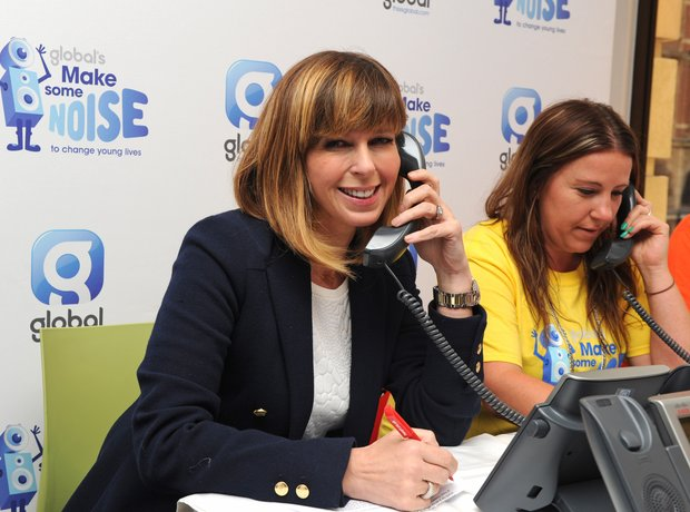 Kate Garraway Global Make Some Noise 2014