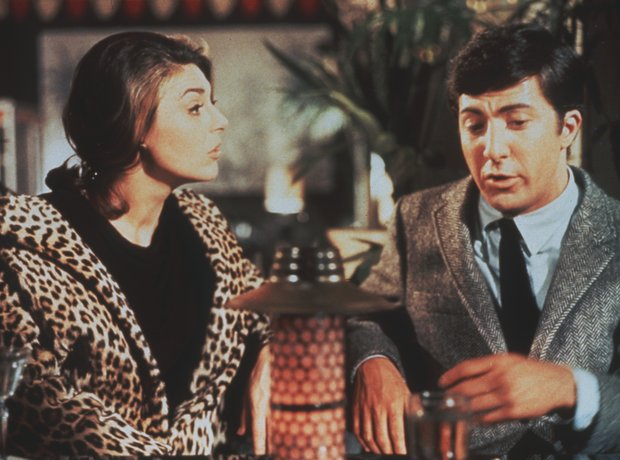 Anne Bancroft Dustin Hoffman The Graduate