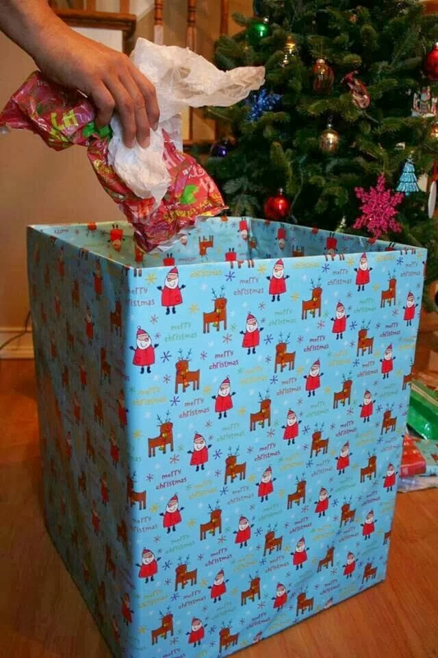 Christmas Wrapping Box