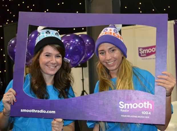 Smooth Radio at the Ski and Snowboard Show