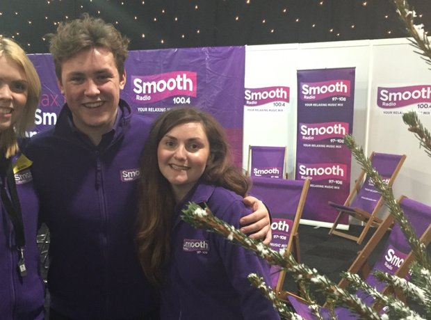Smooth Radio at the Ski and Snowboard Show
