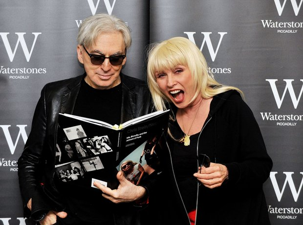 Chris Stein and Debbie Harry
