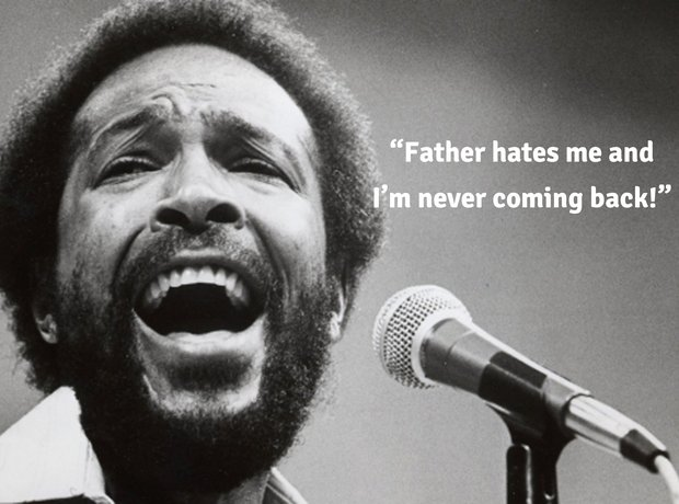 Marvin Gaye final words