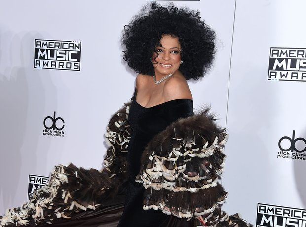 Diana Ross at AMAs