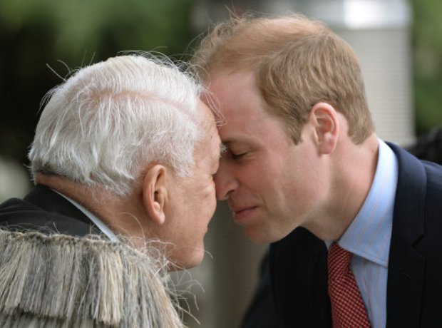 The Duke of Cambridge in New Zealand
