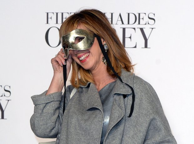 Kate Garraway attends the Fifty Shades Of Grey UK