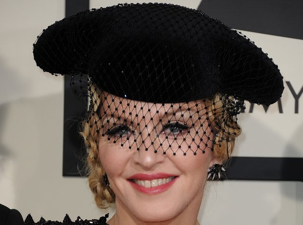 Madonna arrives at the Grammy Awards 2015