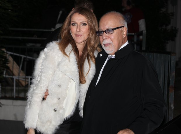 Celine Dion and René Angélil