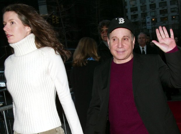 Paul Simon and Edie Brickell