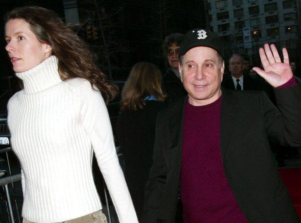 Paul Simon and Edie Brickell