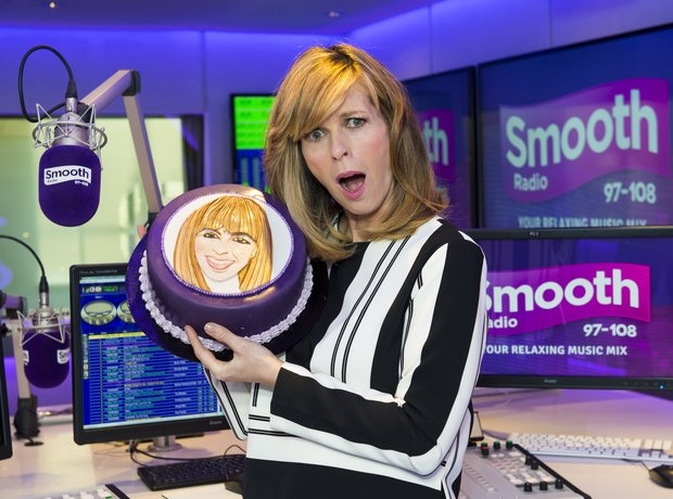 Kate Garraway celebrates her first anniversary