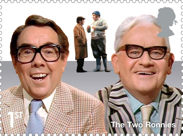 The Two Ronnies stamp
